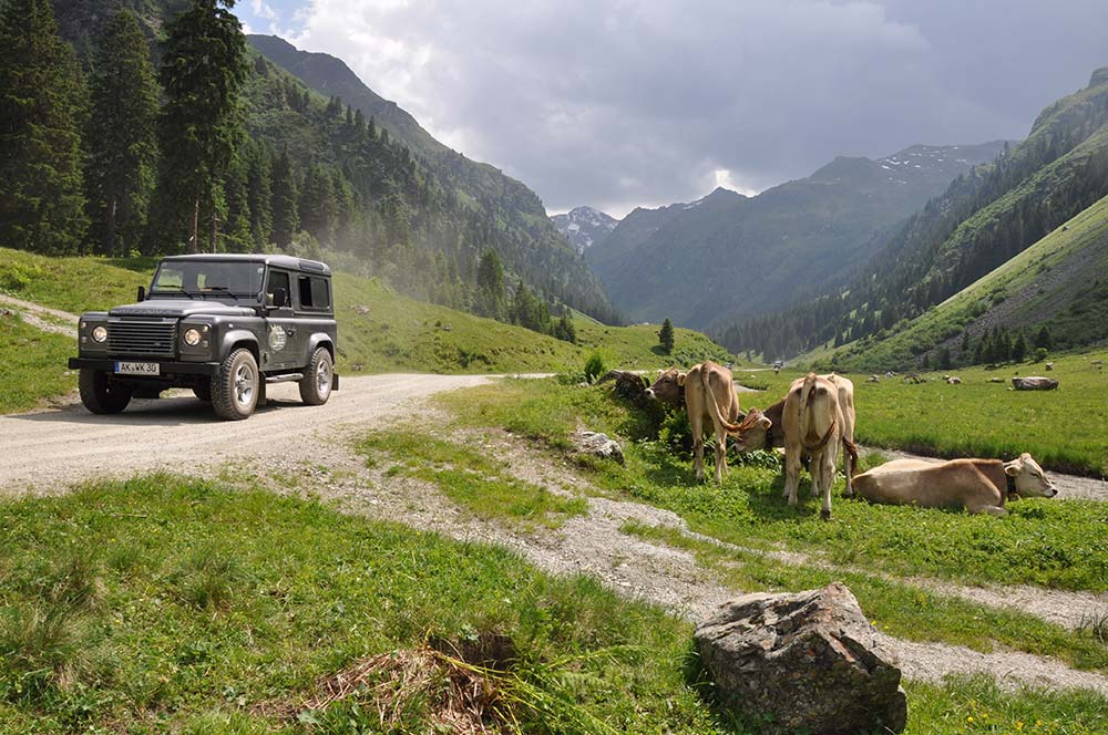 Defender Legendentage Montafon